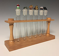 Garden Apothecary and Perfume Set by Sage Churchill-Foster (Glass Perfume Bottles)