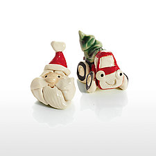 Coming to Town! by Cindy Pacileo (Ceramic Ornaments)