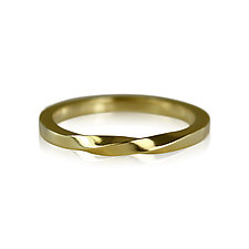 Torus Ring in 18K Gold by Karin Jacobson (Gold Ring)
