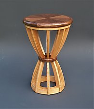 Sheaf by Tracy Fiegl (Wood Side Table)