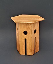 Castle Nut by Tracy Fiegl (Wood Side Table)