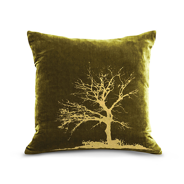 Gilded Luxe Tree Pillow