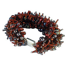 Hot Chili Pepper Bracelet by Kathryn Bowman (Beaded Bracelet)