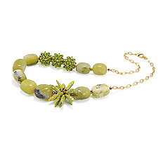 Green Spring by Kathryn Bowman (Jewelry Necklaces)