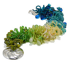 Cool Eve by Kathryn Bowman (Glass Bead Bracelet)