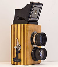 Yashica by John Shuptrine (Wood Sculpture)