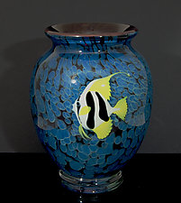 Pennant Fish by Orient & Flume Art Glass (Art Glass Vase)