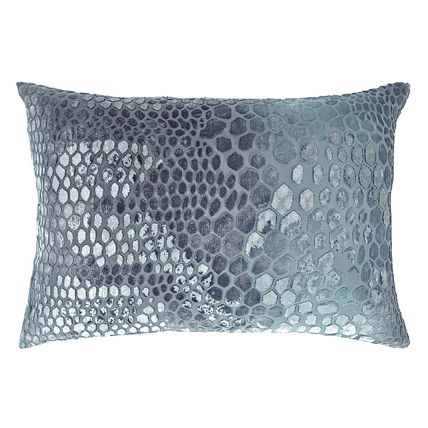 Snakeskin Velvet Pillow - Rectangular