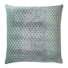 Large Dots Velvet Pillow by Kevin O'Brien (Velvet Pillow)