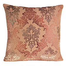 Large Brocade Velvet Pillow by Kevin O'Brien (Velvet Pillow)