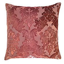 Brocade Velvet Pillow by Kevin O'Brien (Silk Velvet Pillow)