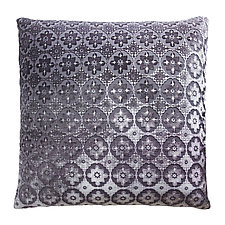 Small Moroccan Velvet Pillow by Kevin O'Brien (Silk Velvet Pillow)