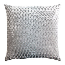 Dots Velvet Pillow by Kevin O'Brien (Silk Velvet Pillow)