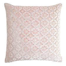 Small Moroccan Velvet Pillow by Kevin O'Brien (Silk Velvet Pillow)