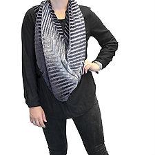 Joana Velvet Capelet by Kevin O'Brien (Silk Velvet Shawl)