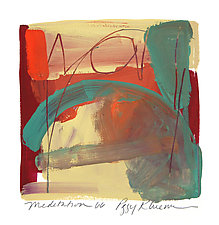 Meditation 66 by Peggy Klineman (Watercolor Painting)