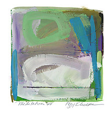 Meditation 44 by Peggy Klineman (Watercolor Painting)