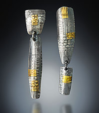 Nothing Matches Earrings by Patricia McCleery (Gold & Silver Earrings)
