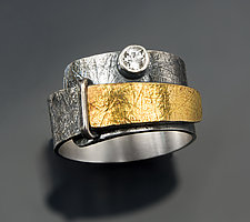 Luminance Ring by Patricia McCleery (Gold & Silver Ring)