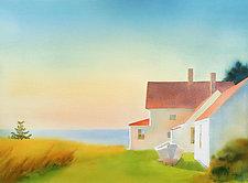 Toward Evening II by Suzanne Siegel (Pigment Print)