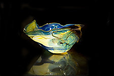 Salado Glassworks Signature Bowl Line IV by Gail Allard (Art Glass Bowl)