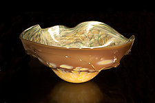 Salado Glassworks Signature Series Bowl V by Gail Allard (Art Glass Bowl)