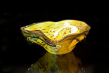 Salado Glassworks Signature Series Bowl IV by Gail Allard (Art Glass Bowl)