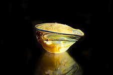 Salado Glassworks Signature Bowl Line V by Gail Allard (Art Glass Bowl)
