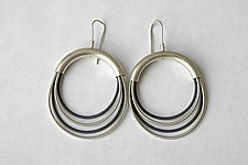 Surgical Wire Earrings by Laurette O'Neil (Wire Earrings)