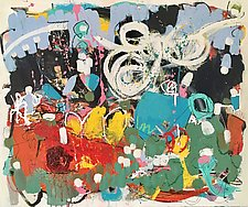 Fat Tuesday by Theresa Vandenberg Donche (Mixed-Media Painting)