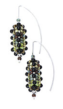 Cobb Earrings by Sheila Fernekes (Beaded Earrings)