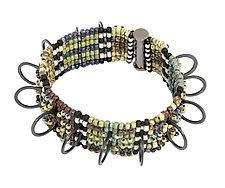 Au Courant Bracelet by Sheila Fernekes (Beaded Bracelet)