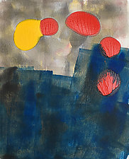 Twilight Family by Amantha Tsaros (Monotype Print)