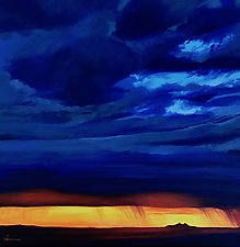 Sunset at Maricopa by Hunter Jay (Acrylic Painting)