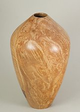 Maple Burl Hollow Form by Eric Reeves (Wood Vessel)