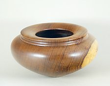 Honduran Rosewood Enclosed Form by Eric Reeves (Wood Vessel)