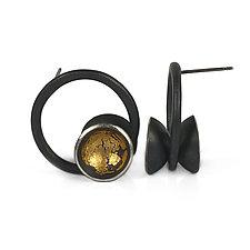 Orbit Studs by Emily  Hunziker Phillips (Gold & Silver Earrings)