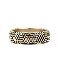 Dot Band by Marian Maurer (Gold Ring)
