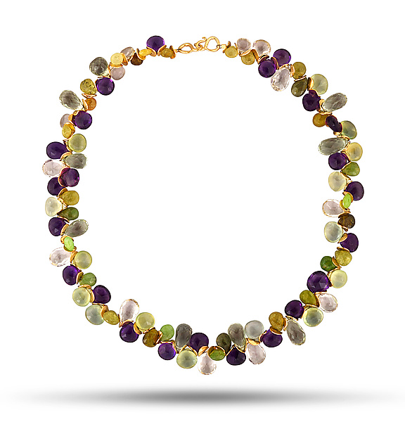 Signature Multi-Gem Necklace