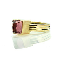 Pink Tourmaline Ring by Lori Kaplan (Jewelry Rings)
