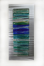 Perfect Peace by Cathy Shepherd (Art Glass Wall Sculpture)