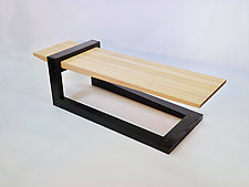 Fulcrum by B.R. Delaney (Wood Coffee Table)