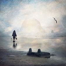 Sandcastles by Gloria Feinstein (Color Photograph on Aluminum)