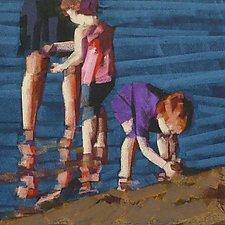 Purple Shirt by Nancy Grist (Giclee Print)