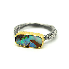 Boulder Opal Ring by Jenny Foulkes (Jewelry Rings)