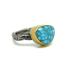 Turquoise Ring by Jenny Foulkes (Jewelry Rings)