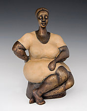 The Queen by Nnamdi Okonkwo (Bronze Sculpture)
