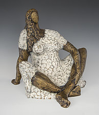 Woman by Nnamdi Okonkwo (Bronze Sculpture)