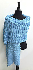Quinn Wrap by Sonya Mackintosh (Knit Wrap)