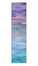 Amethyst Gradation by Robert A. Brown and Anne Moran (Metal Wall Sculpture)